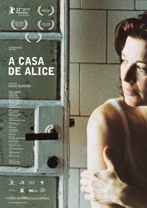 A Casa de Alice - Brazilian Movie Poster