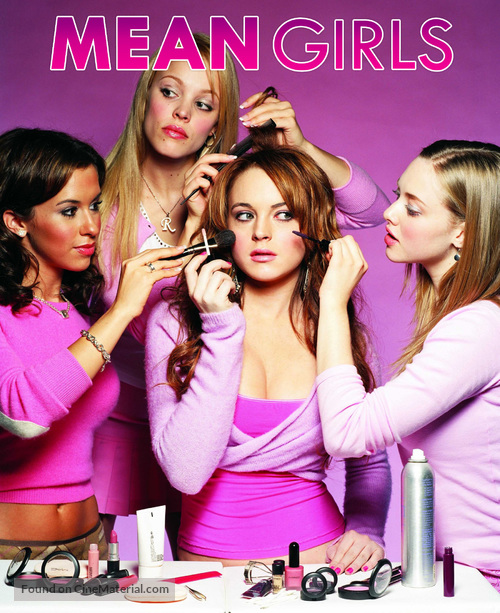 Mean Girls - Blu-Ray movie cover
