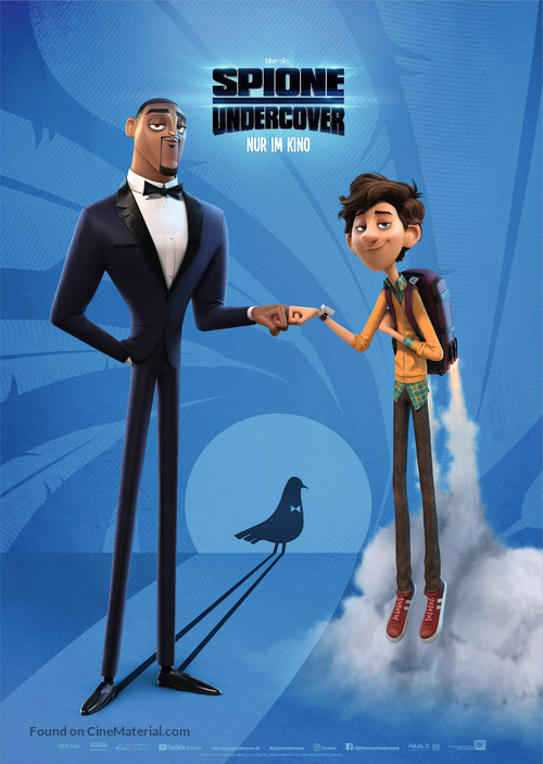 Spies in Disguise - German Movie Poster