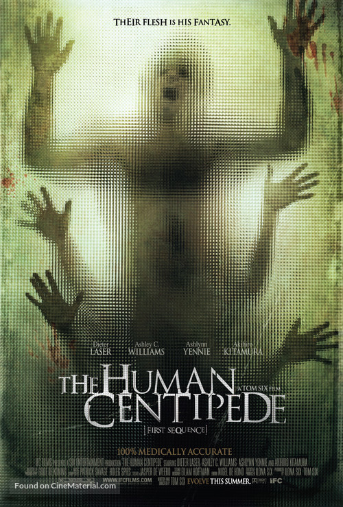 The Human Centipede (First Sequence) - Movie Poster