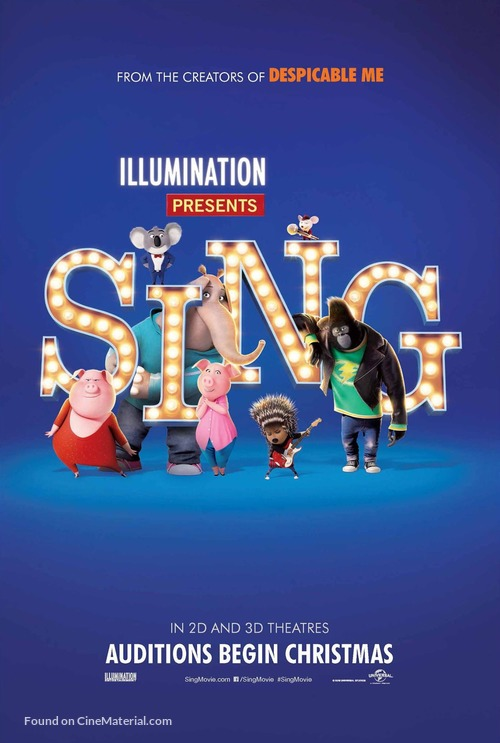 Sing - Movie Poster