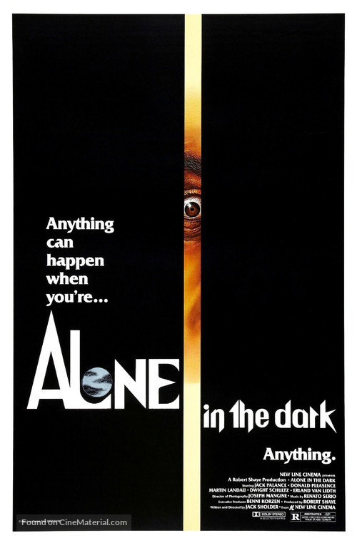 Alone in the Dark - Movie Poster