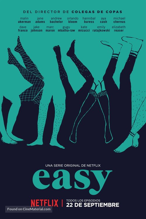 """Easy"" - Mexican Movie Poster"