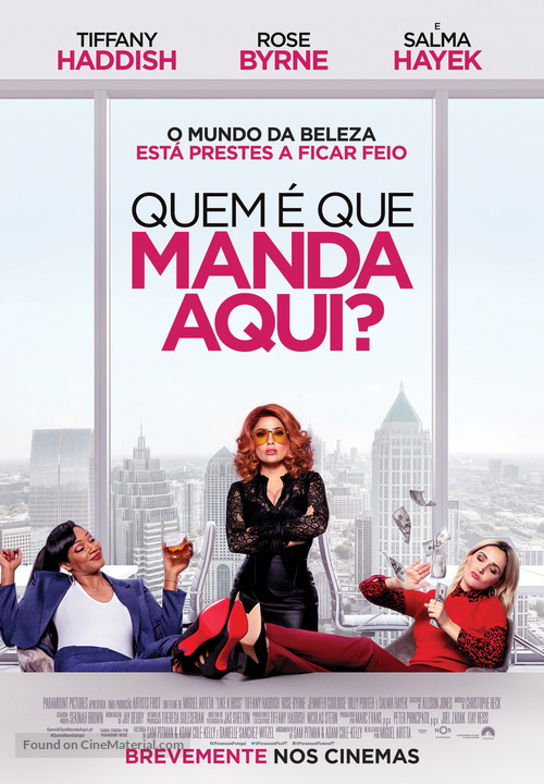 Like a Boss - Portuguese Movie Poster