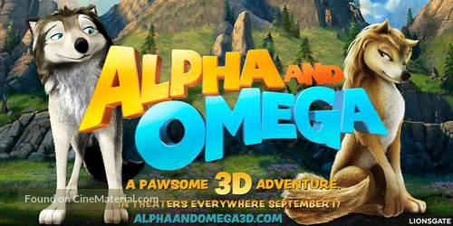Alpha and Omega - Movie Poster