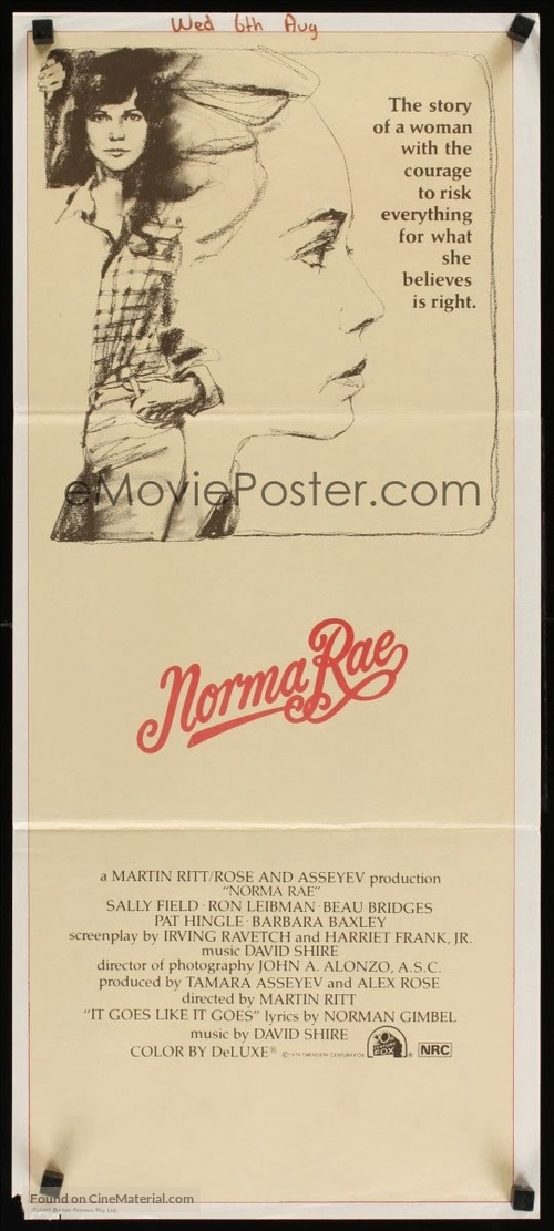 norma rae a labor analysis Norma essay chapter 4 norma rae a labor analysis this film is based on the real life story of crystal lee sutton and her involvement with ruben warshovsky and.