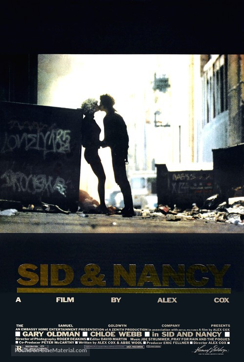 Sid and Nancy - Movie Poster