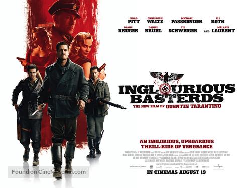Inglourious Basterds - British Movie Poster