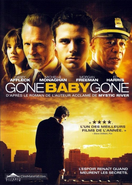 Gone Baby Gone - French DVD movie cover