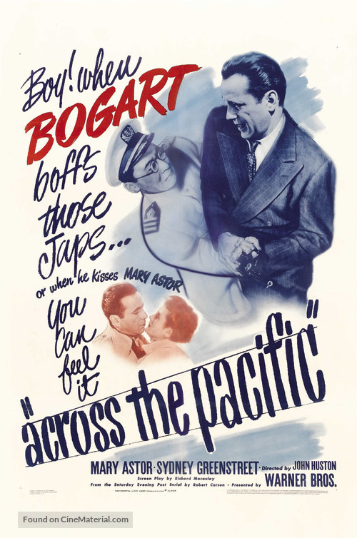 Across the Pacific - Movie Poster
