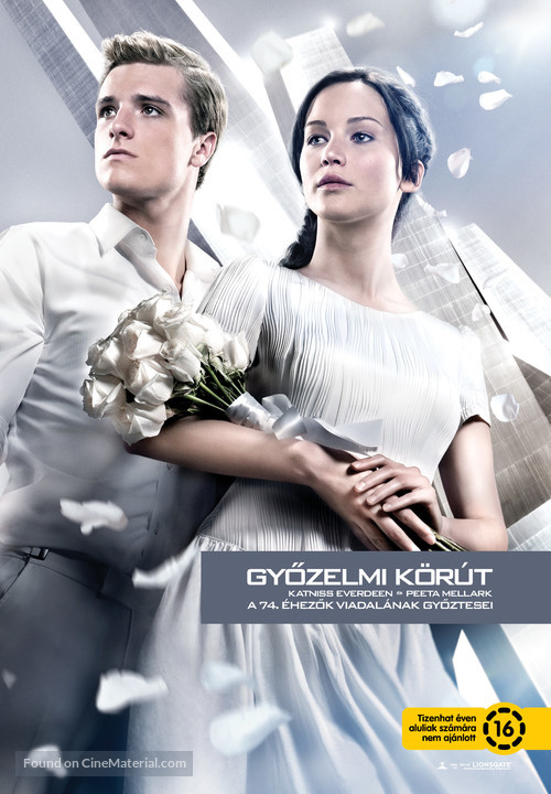 The Hunger Games: Catching Fire - Hungarian Movie Poster