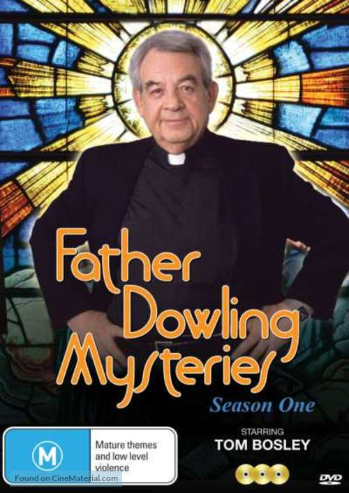 """""""Father Dowling Mysteries"""" - Australian DVD movie cover"""