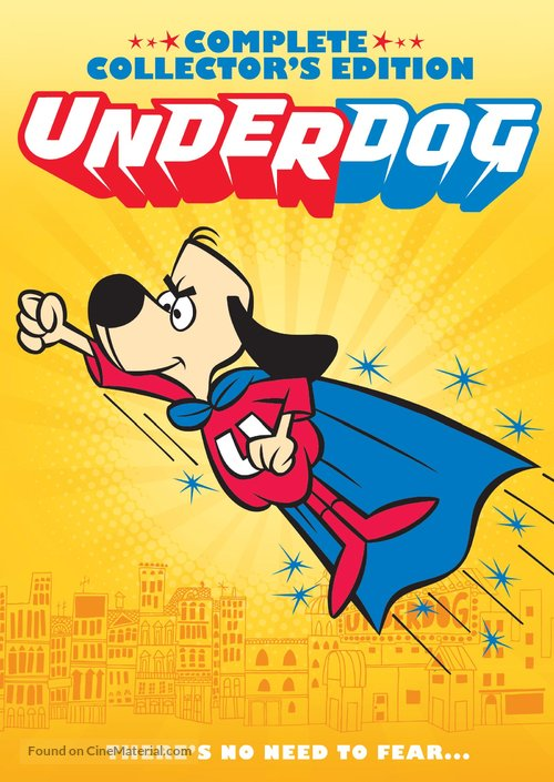 """Underdog"" - DVD movie cover"