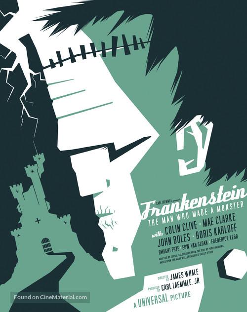 Frankenstein - Homage movie poster
