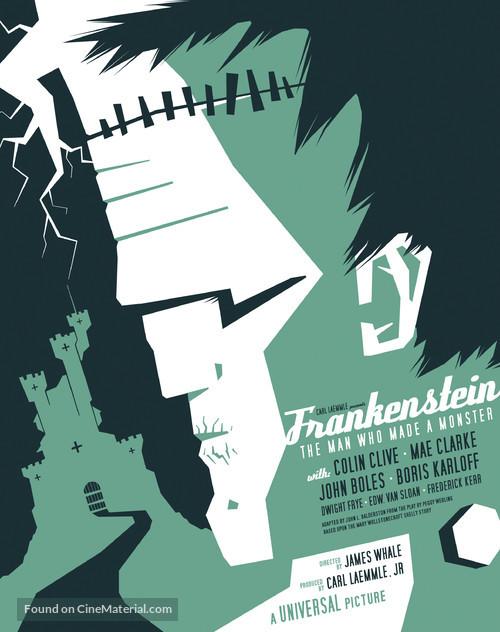 Frankenstein - Homage poster