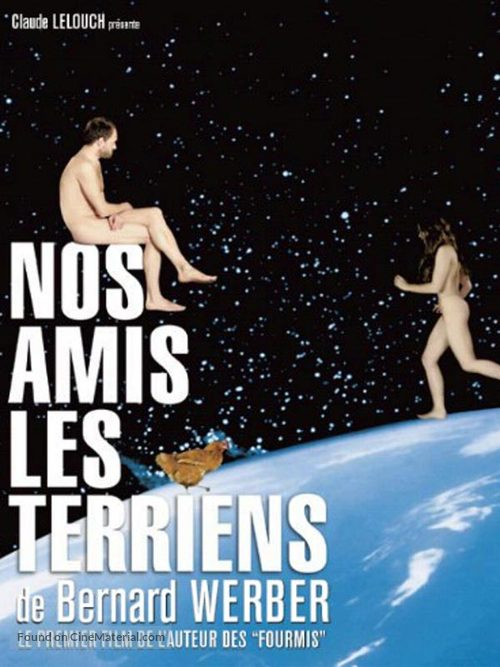 Nos amis les Terriens - French poster