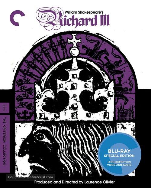 Richard III - Blu-Ray movie cover
