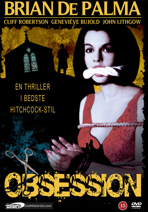 Obsession - Danish Movie Cover