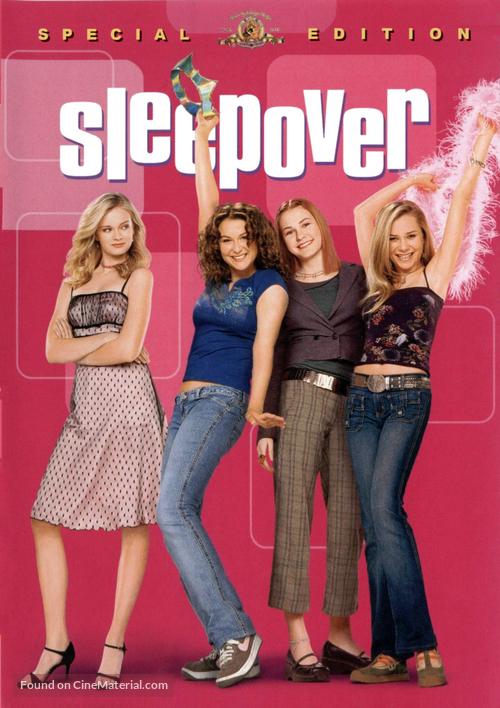 Sleepover - DVD movie cover