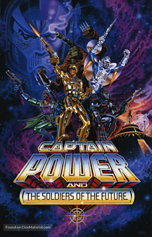 """Captain Power and the Soldiers of the Future"" - Movie Poster"