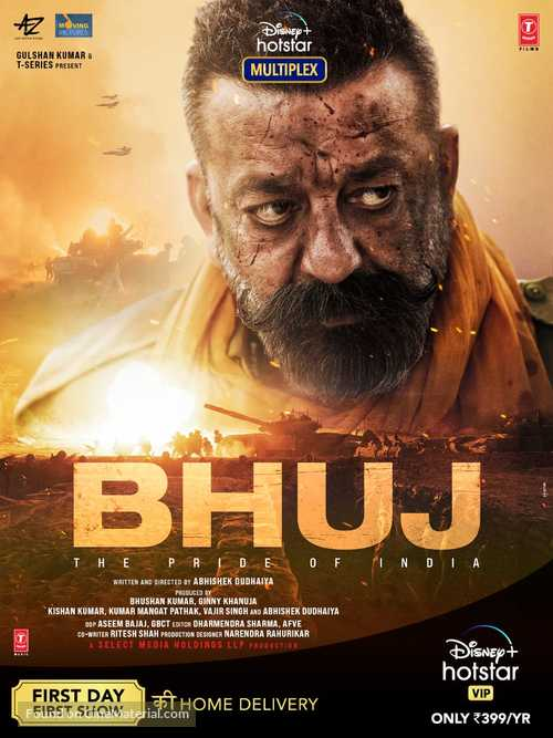 Bhuj: The Pride of India - Indian Movie Poster