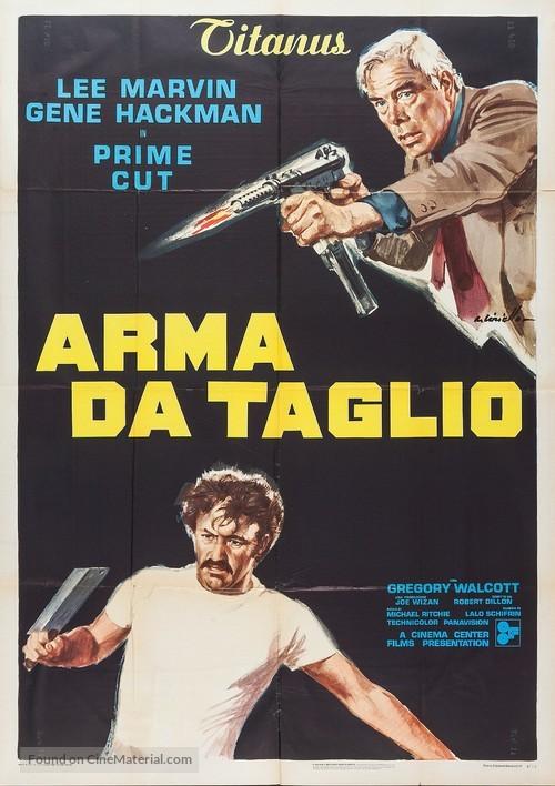 Prime Cut - Italian Movie Poster