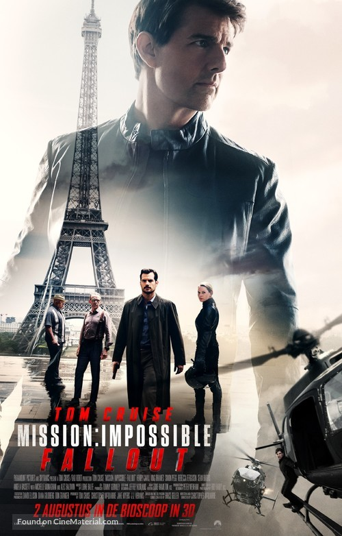 Mission: Impossible - Fallout - Dutch Movie Poster