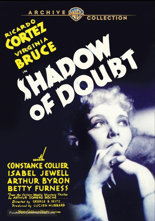 Shadow of Doubt - DVD movie cover
