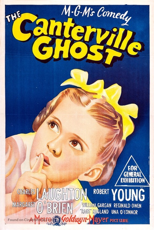 The Canterville Ghost (1944) Australian movie poster