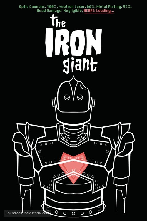 The Iron Giant - poster