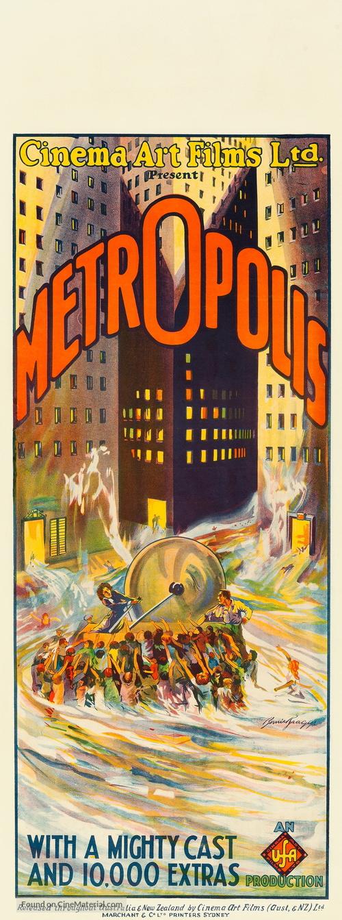 Metropolis - Australian Movie Poster