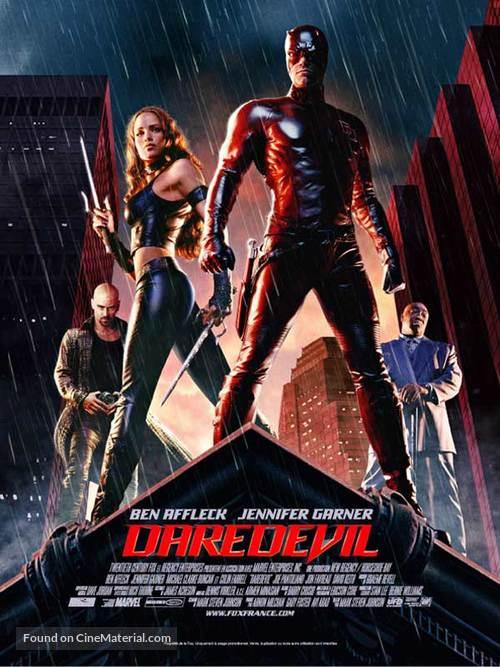 Daredevil - French Movie Poster