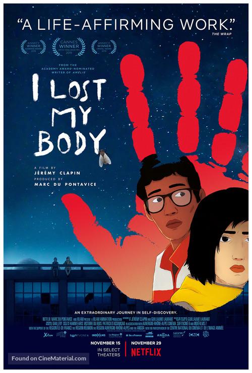 J'ai perdu mon corps - Movie Poster