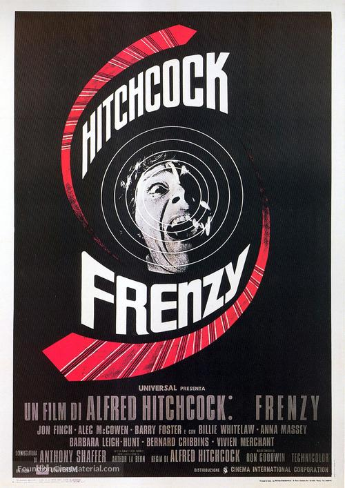 Frenzy - Italian Movie Poster