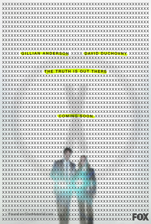 """The X Files"" - Movie Poster"