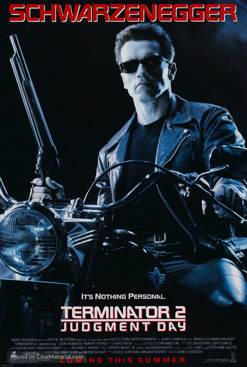 Terminator 2: Judgment Day - Advance poster