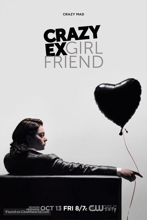 """Crazy Ex-Girlfriend"" - Movie Poster"