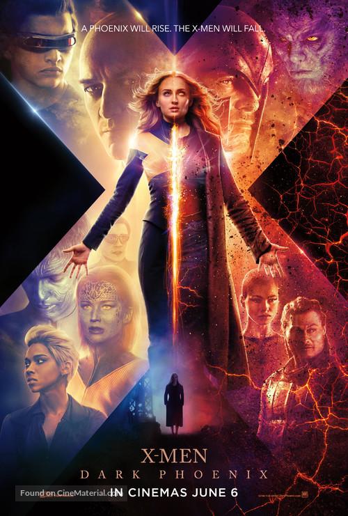 Dark Phoenix - Singaporean Movie Poster