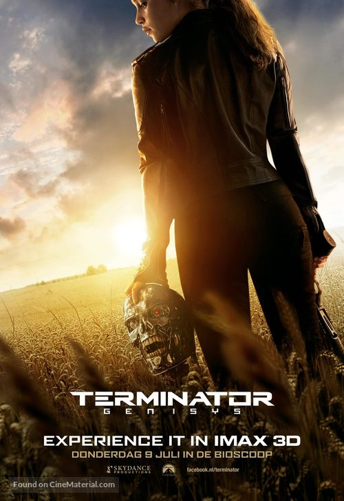 Terminator Genisys - Dutch Movie Poster