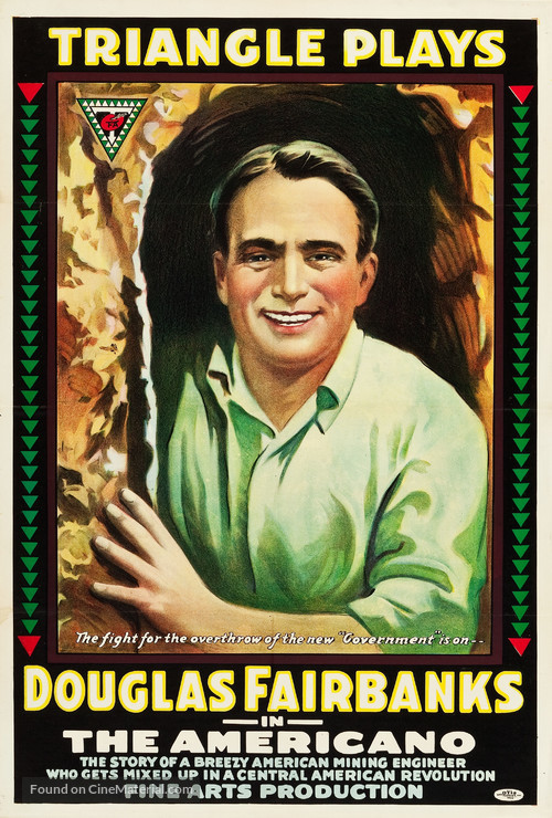 The Americano - Movie Poster