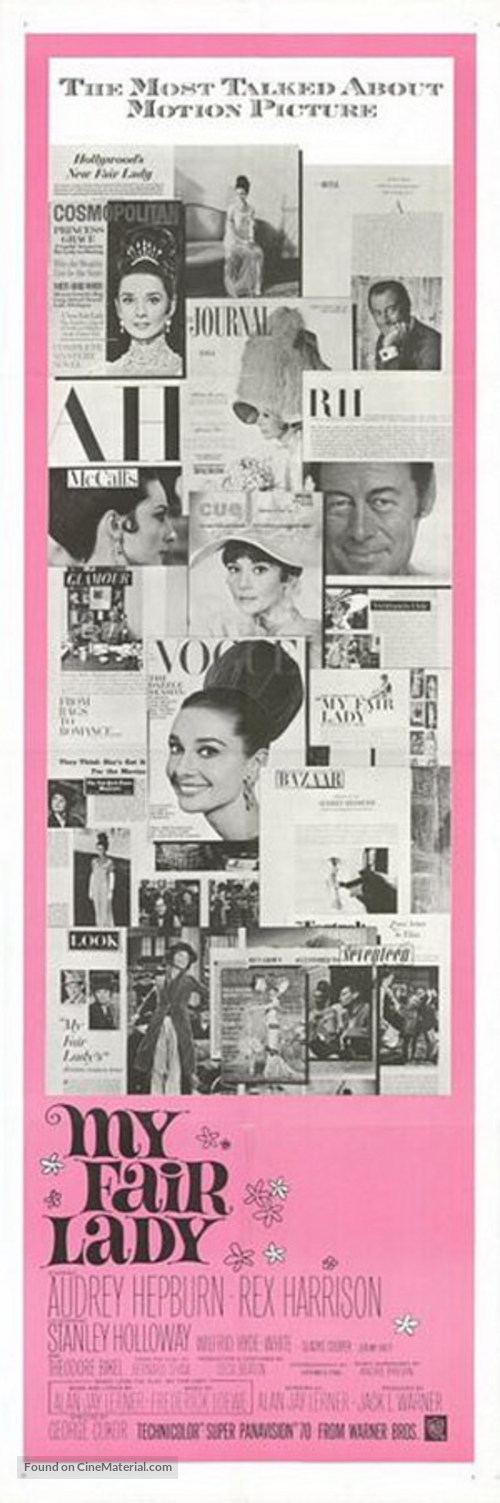 My Fair Lady - Movie Poster
