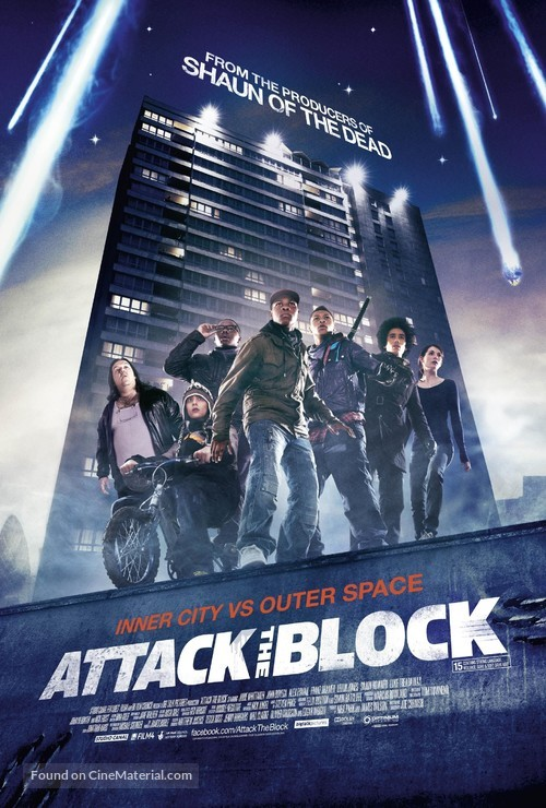 Attack the Block - British Movie Poster