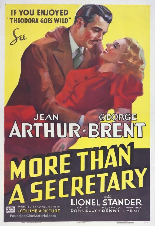 More Than a Secretary - Movie Poster