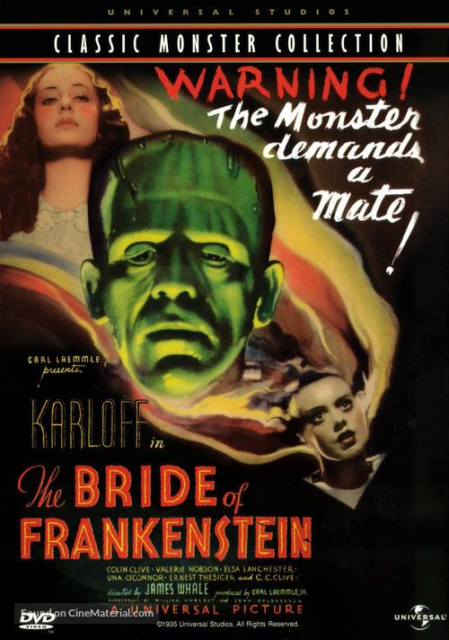 Bride of Frankenstein - DVD movie cover