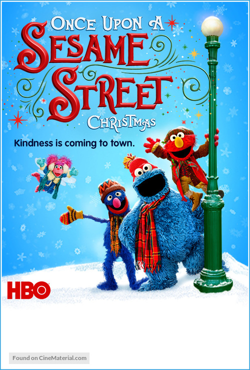 Once Upon a Sesame Street Christmas - Movie Poster
