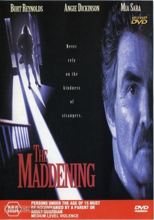 The Maddening - Australian DVD cover