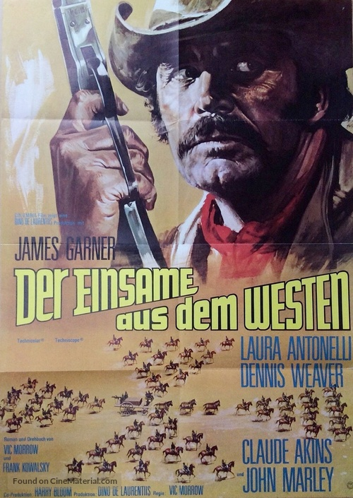 A Man Called Sledge - German Movie Poster