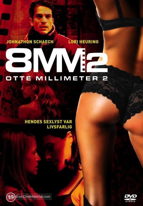8MM 2 - Danish Movie Poster