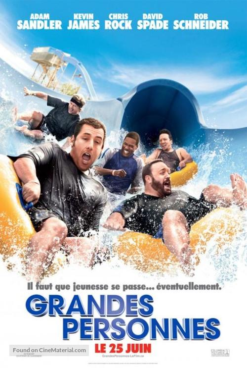 Grown Ups - Canadian Movie Poster