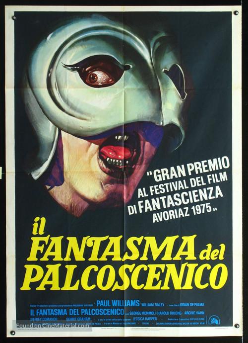 Phantom of the Paradise - Italian Movie Poster
